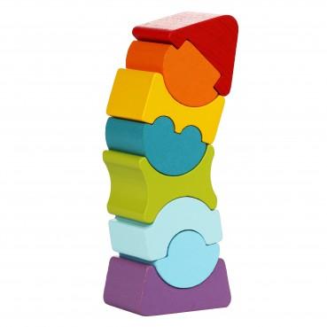 Cubika, Drewniana balansująca wieża LD-8