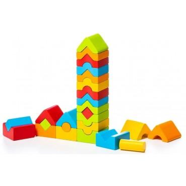 Cubika, Zestaw drewnianych wieżyczek  LD-13