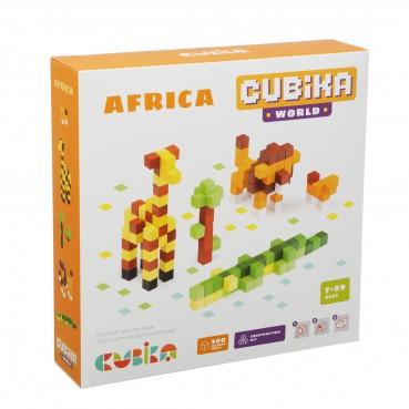Cubika, Drewniana mozaika Pixels 3D Africa