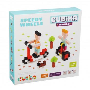 Cubika, Drewniana mozaika  Pixels 3D Speedy Wheels