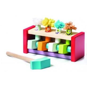 Cubika, Drewniana gra Skaczące Klauny